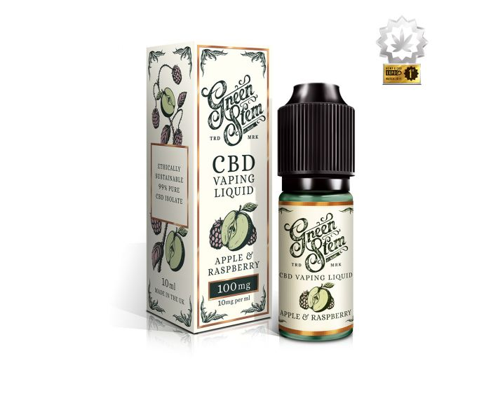 Apple & Raspberry CBD Vape Liquid