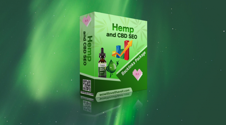 Hemp and CBD SEO Backlinks Package