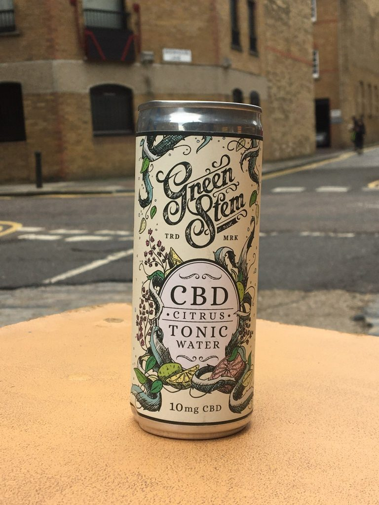 Green Stem CBD Tonic Water