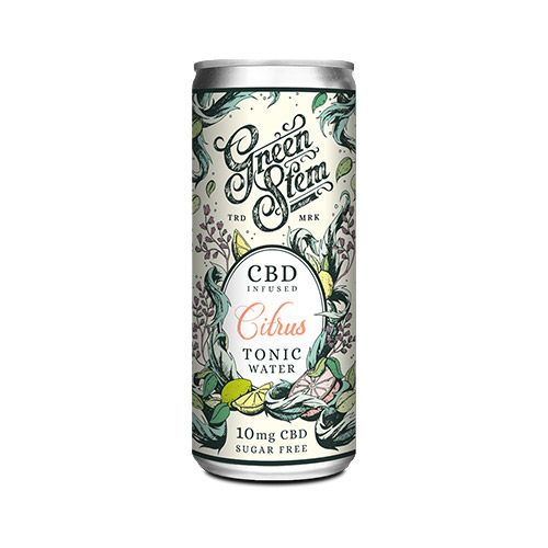 CBD Tonic Water 250ml - Citrus