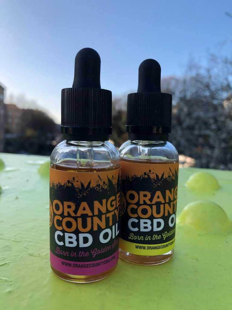 Orange County CBD CBD TINCTURE 30ml (1000mg)