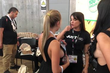 JustCBD at USA CBD EXPO, Medellin, Colombia 2020