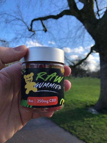 Raw Gummies CBD Gummy Bears from Miami, Florida Review