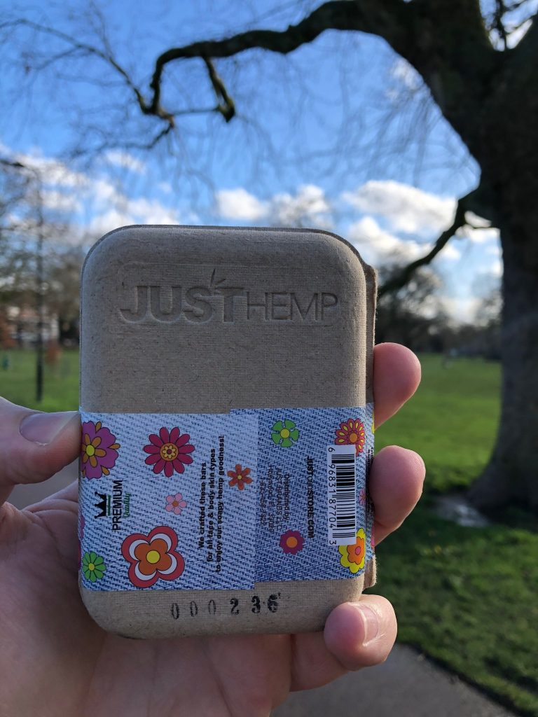 Flower Power Hemp Soap from JustCBD