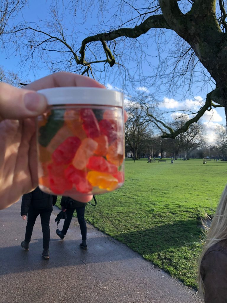 Sugar-Free CBD Gummy Bears