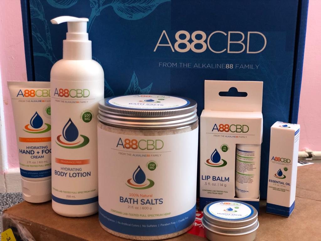 A88CBD Review - CBD Oil Tinctures, CBD Capsules and CBD Salves and Lotions Line Up
