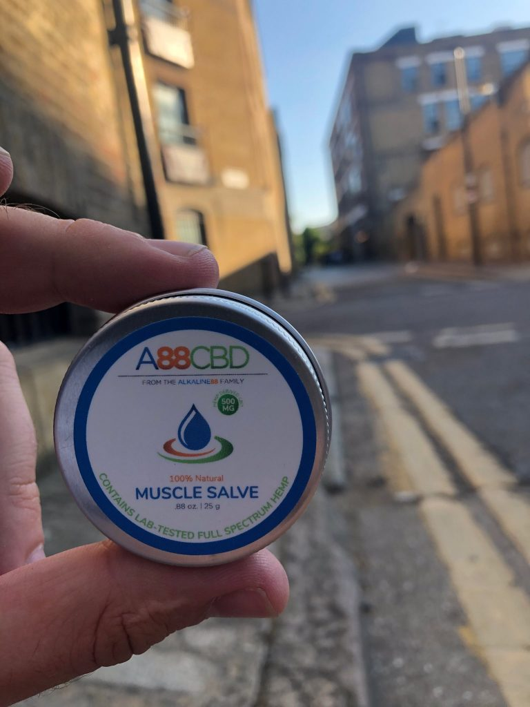 CBD Muscle Salve